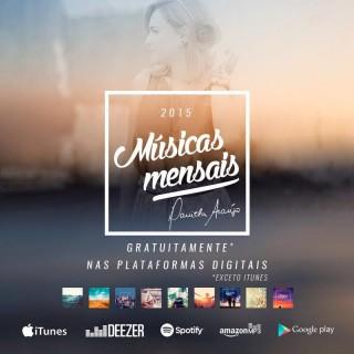 daniela araujo 2015 musicas mensais